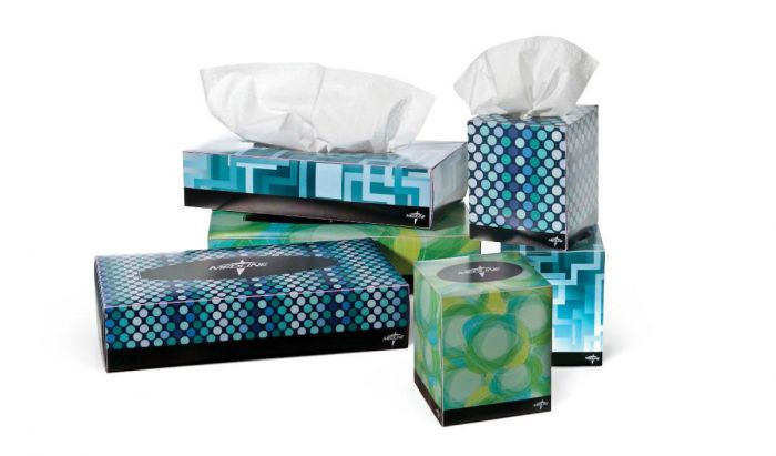 Medline Premium Facial Tissues - Shop All PF01190 by Medline