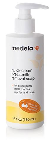 Medela Quick Clean Breastmilk Removal Soap, 6oz MLA87240 by Medela