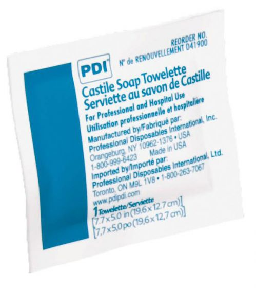 PDI Castile Soap Towelettes - Shop All PF65215 by Medline