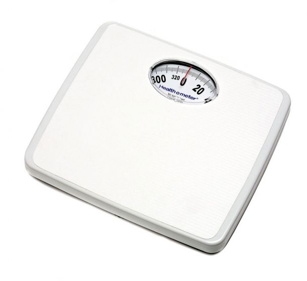 Mechanical Floor Scale lb Only 330 lb Weight Capacity CNS175LB by Healthometer Professional Scales