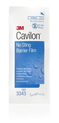 Cavilon No-Sting Film Barrier by 3M Healthcare MMM3343Z by 3m Healthcare