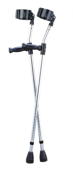 Guardian Aluminum Forearm Crutches - Shop All PF04773 by Medline