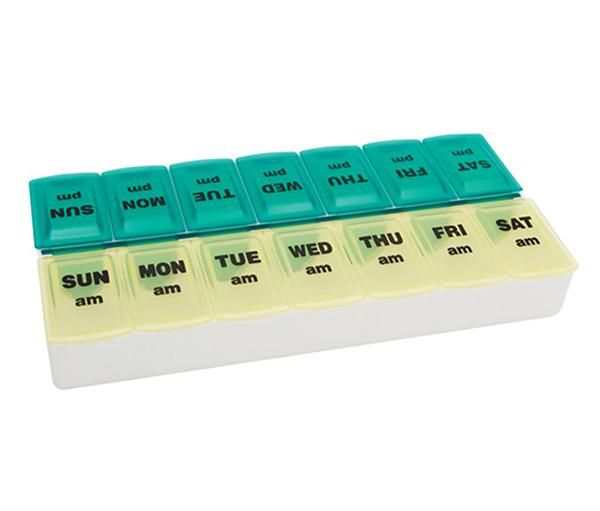 Twice-A-Day Weekly Pill Organizer NON70059LH by Apex Medical