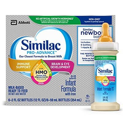 Similac Pro-Advance HMO Ready To Eat Infant Formula with Iron 2oz - Shop All PF148842 by Abbott