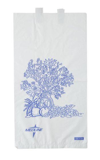 Medline Plastic Bedside Bag 6.5x3.5x11.8 100Ct NON24309PZ by Medline