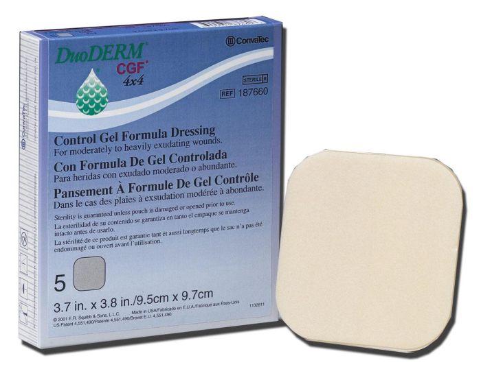 DuoDERM CGF Sterile Dressings SQU187660 by