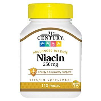 Niacin Tablet Extended-Release 250mg 110Ct OTC228494 by Medline