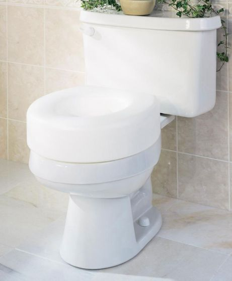 Medline Guardian Economy Raised Toilet Seat G30250H by Medline