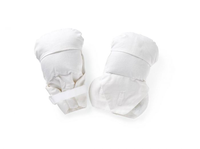 Medline Safety-Check Hand/Finger Protector Mitts 1 Pair MDT823243 by Medline