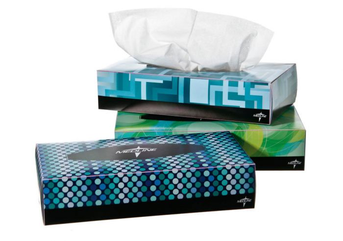 Premium Facial Tissues 100 Count NON245277Z by Medline