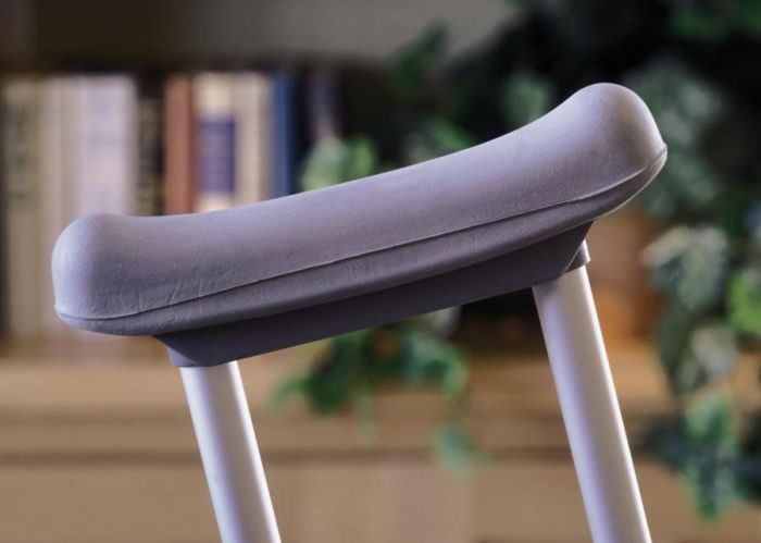 Guardian Gray Underarm Cushion for Crutches