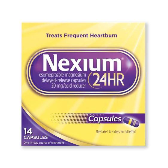 Nexium 24 Hour Heartburn Relief OTC245014H by Glaxo Smithkline Plc