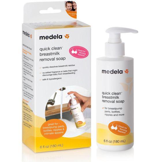 Medela Quick Clean Breastmilk Removal Soap 6oz MLA87240H by Medela