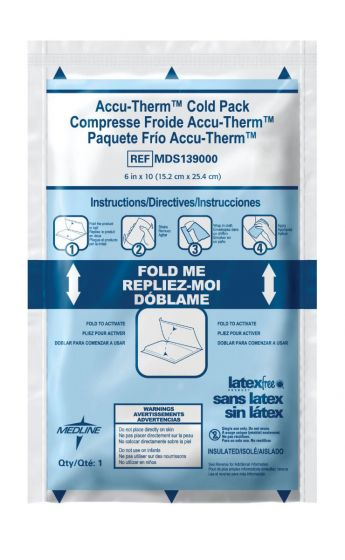 Accu-Therm Heavyweight Jr. Instant Cold Pack - Shop All PF03131 by Medline