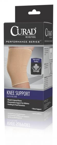 CURAD Performance Elastic Pull-Over Knee Support S 1Ct ORT23100SDH by Medline