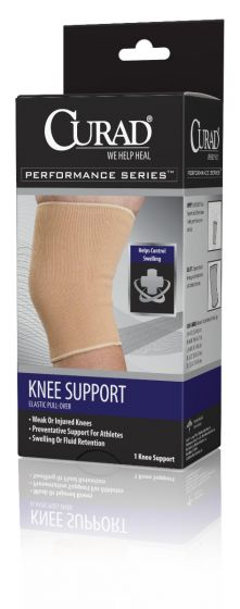 CURAD Performance Elastic Pull-Over Knee Support XL 1Ct ORT23100XLDHH by Medline