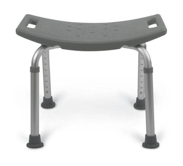 Aluminum Bath Bench without Back 250 lb Weight Capacity