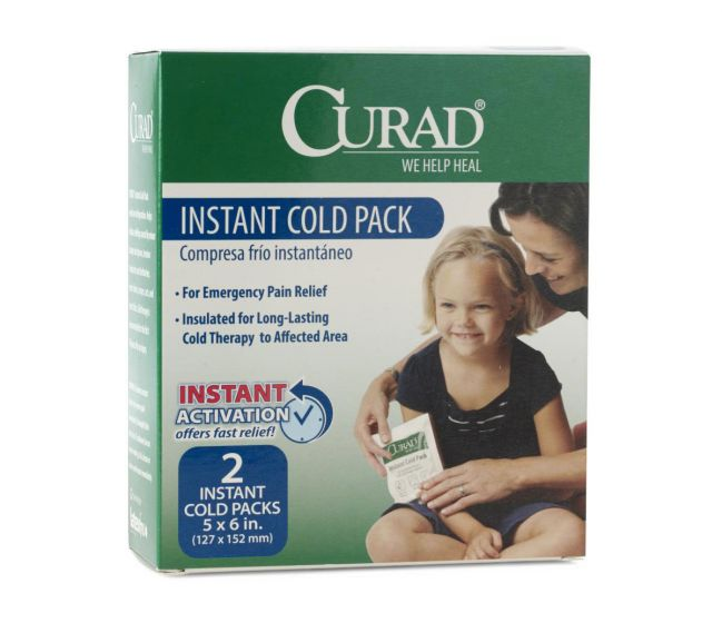 CURAD Instant Cold Pack 5x6 Single Use 24Ct CUR961R by Medline