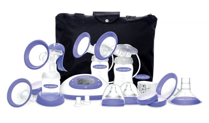 Lansinoh SignaturePro DELUXE Double Electric Breast Pump EMO80020 by Lansinoh Laboratory Inc