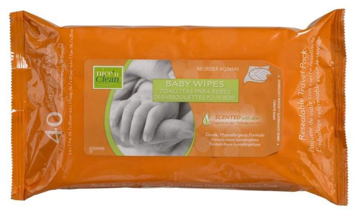 Nice'n Clean Scented Baby Wipes