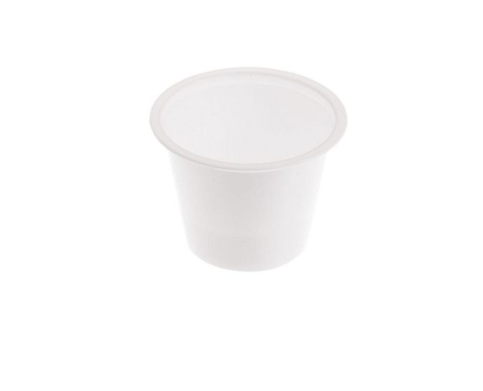 Dipsosable Plastic Drinking Cup, 0.75oz