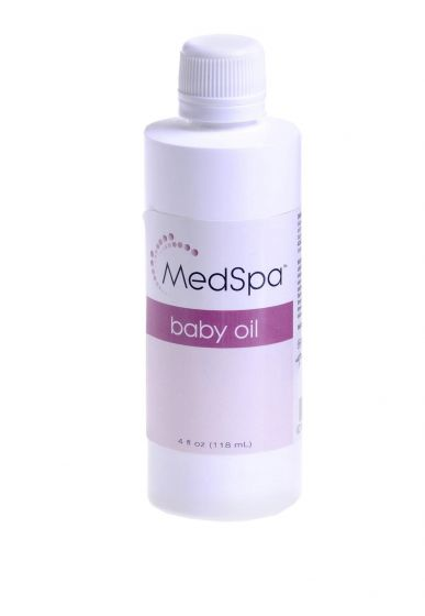 Medline MedSpa Baby Oil 4oz 1 Count MSC095052H by Medline