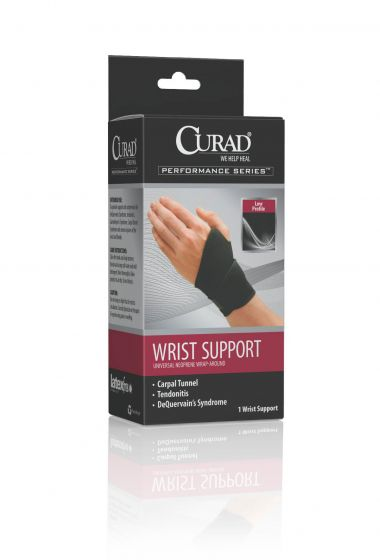CURAD Performance Series Neoprene Wraparound Wrist Support ORT19700DH by Medline