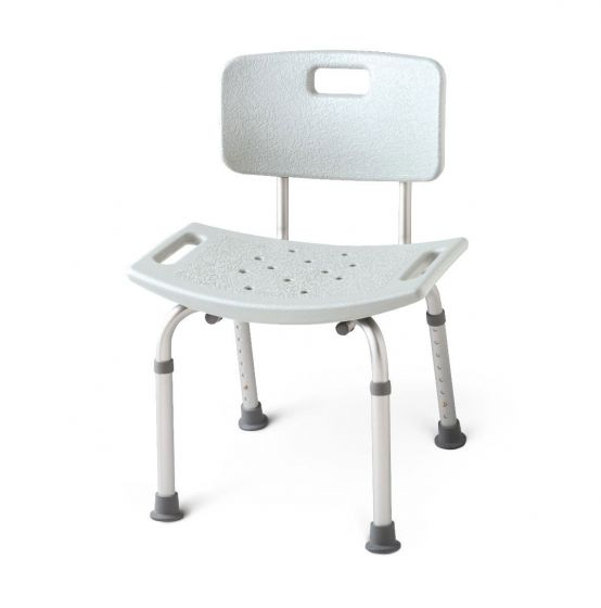 Aluminum Bath Benches with Back PF04604 by Medline