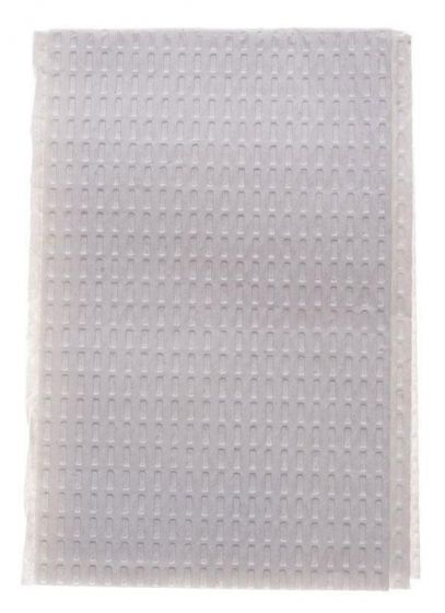 "3-Ply Disposable Poly-Backed Tissues, 13"" x 18"""