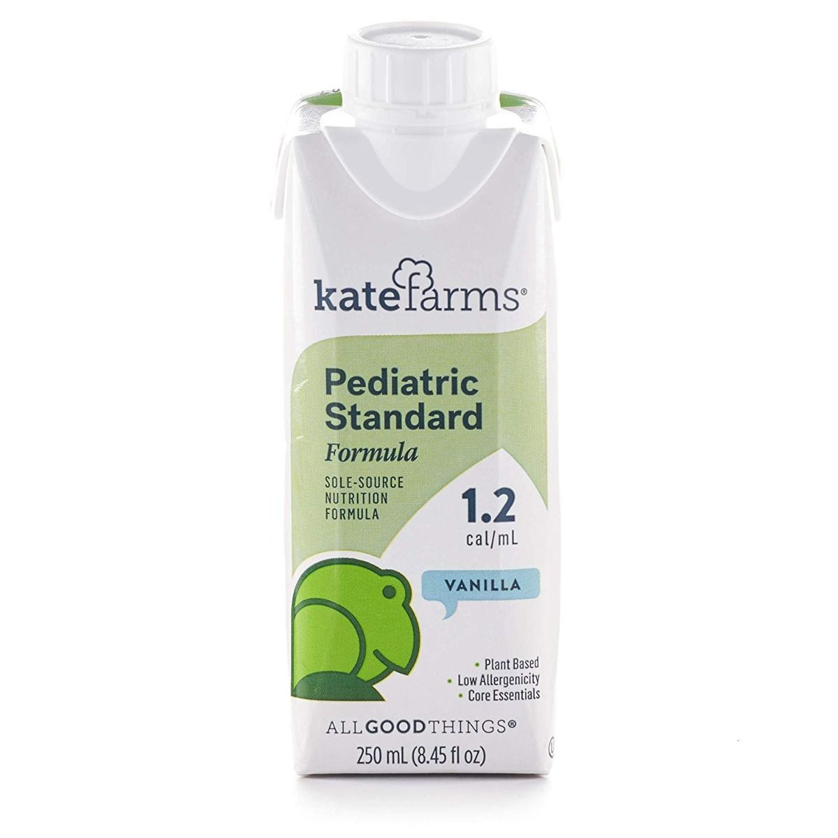 Nutrition Formula Kate Farms Pediatric Standard 1 2 Vanilla