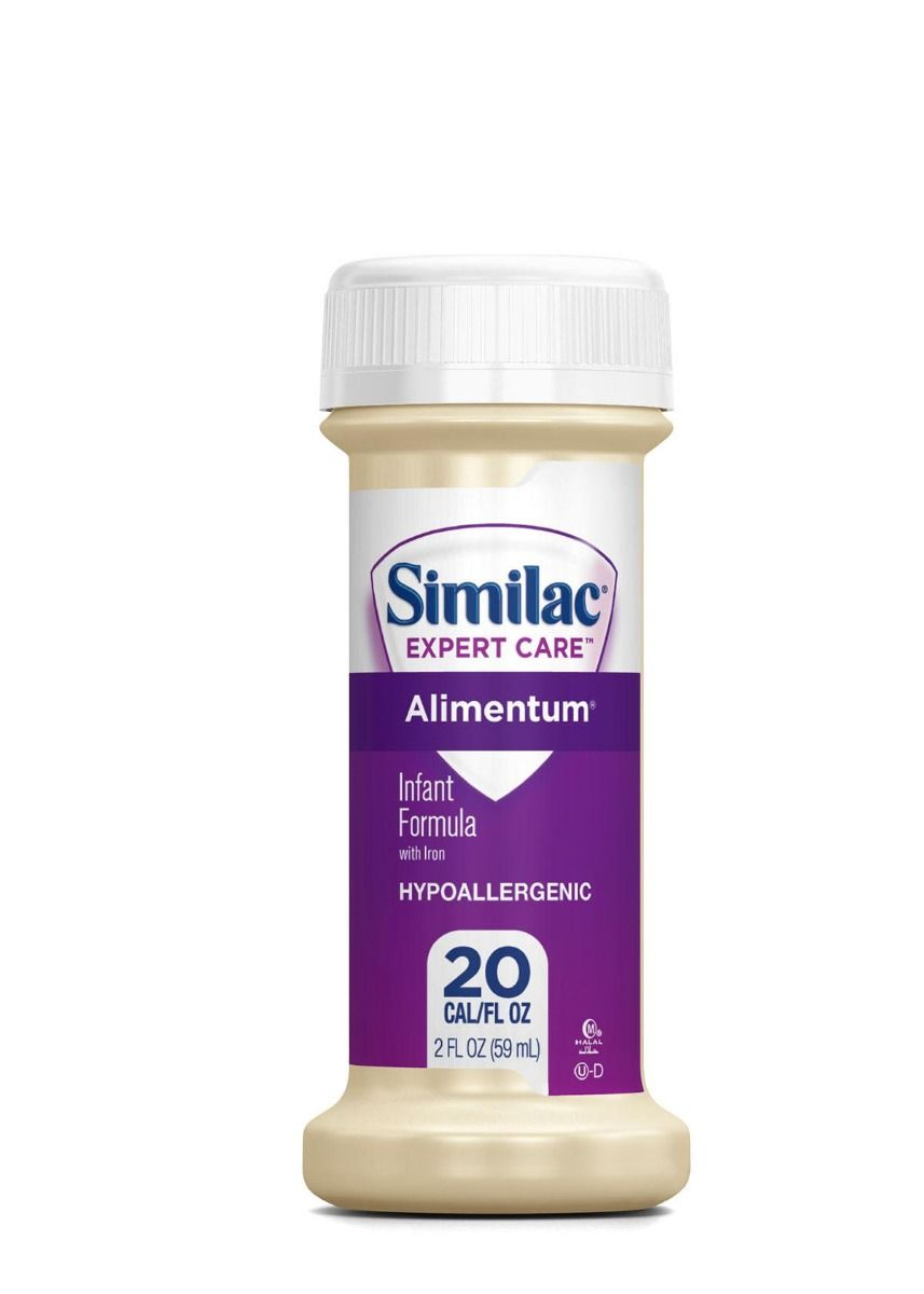 Alimentum Ready To Feed 2 Oz similac alimentum hypo ready-to-feed infant formula, 2oz