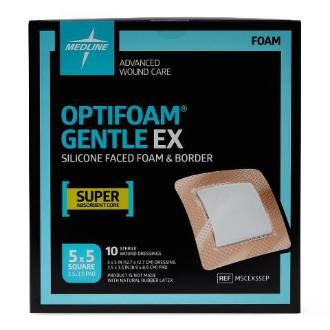 Optifoam Gentle EX Dressings