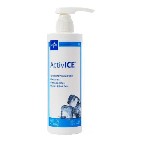 Medline ActivICE Topical Pain Reliever 16oz Pump 1Ct MDSAICE16H by Medline
