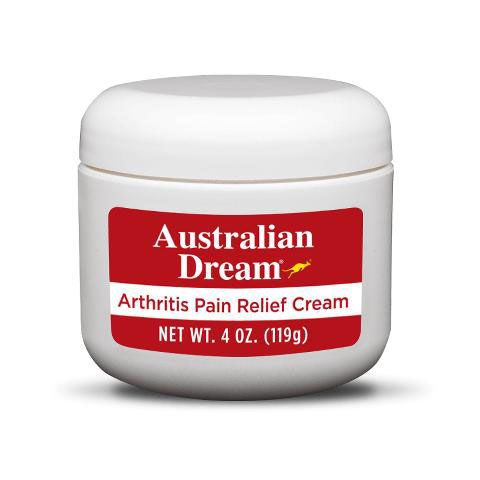 Australian Dream Arthritis Pain Relief Cream, 4oz