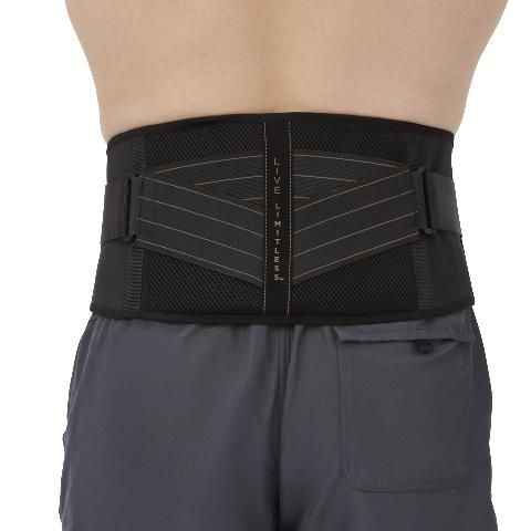Copper Fit Back Support with Hot/Cold Therapy S/M 1Ct CFRRBKSM by Medline