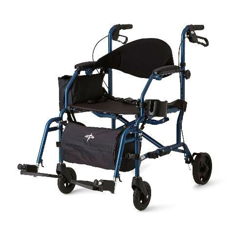 Combination Rollator and Transport Chair PF05431 by Medline