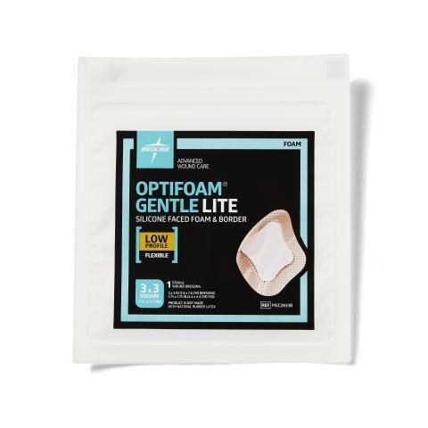 Optifoam Gentle Lite Wound Dressings MSC2833BH by Medline
