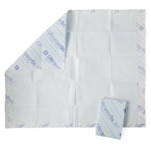 Ultrasorbs Air Permeable Drypad Underpads PF01465 by Medline