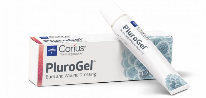 Medline PluroGel Burn/Wound Dressing 0.7oz Tube 1Ct PGL020H by Medline