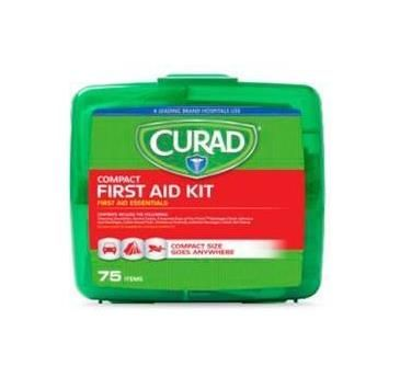 Curad 75-Piece Compact First Aid Kit CURFAK200RB by Medline
