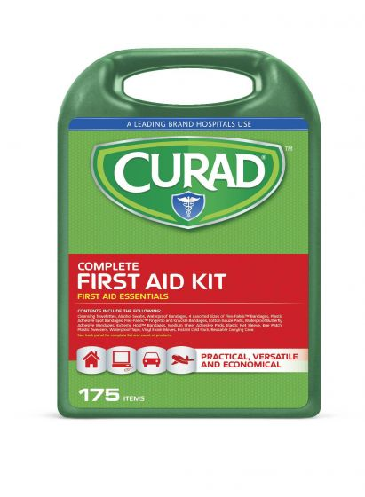 Curad 175-Piece Complete First Aid Kit