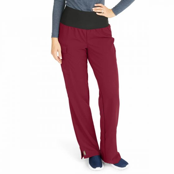Ocean Ave Women's Stretch Fabric Support Waistband Scrub Pants, Size XS 5560WNEXSP by Medline