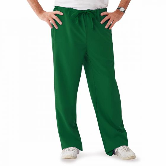 Newport ave Unisex Stretch Fabric Scrub Pants with Drawstring, Size M 5900HTRM by Medline