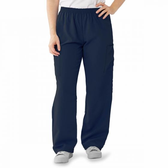 PerforMAX Unisex Elastic Waist Scrub Pants, Size XL 850NNTXL by Medline