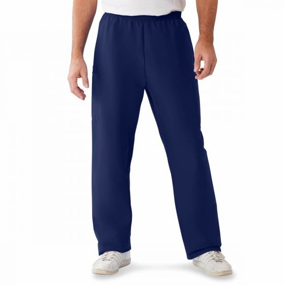 ComfortEase Unisex Cargo Scrub Pant Midnight Bl L Reg 1Ct 9351JNTLM by Medline