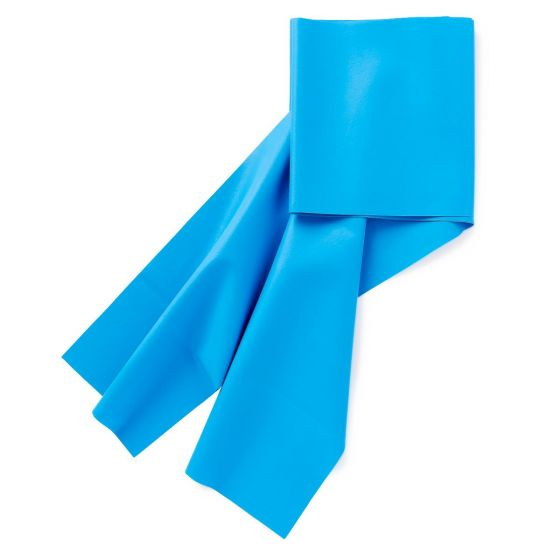 Medline Blue Latex Exercise Band Heavy Resistance 30Ct MDSBND30BXH by