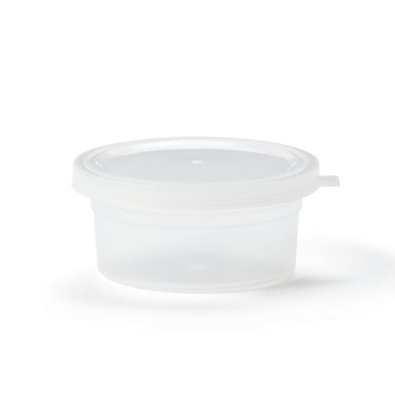 Empty 2oz Putty Container with Lid MDSPTY2OZCN by