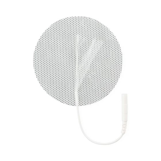 Cloth Electrodes, 3in Round, Plus, 4 pack MDSS3RDCPK by Compass Health Brands