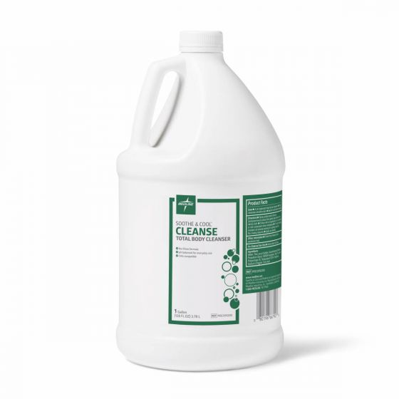 Medline Soothe & Cool No-Rinse Body Cleanser 1gal 4Ct MSC095200 by Soothe & Cool