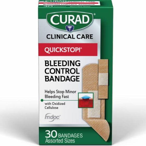 CURAD Quickstop Hemostat Bandages